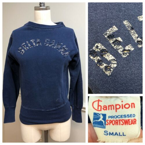 Vintage 1950s Champion Running Man Sweatshirt Del… - image 1