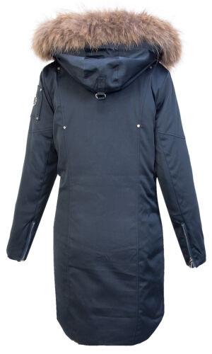 Da Donna Designer Giacca Invernale Cappotto Parka Cappotto da Donna Cappuccio Echt PELZ d-410 NUOVO