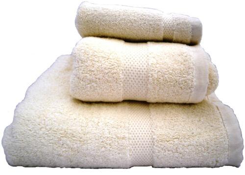1X HAND 1X FACE TOWEL 1X BATH 100/% COTTON TOWELS BUNDLE 600 GSM