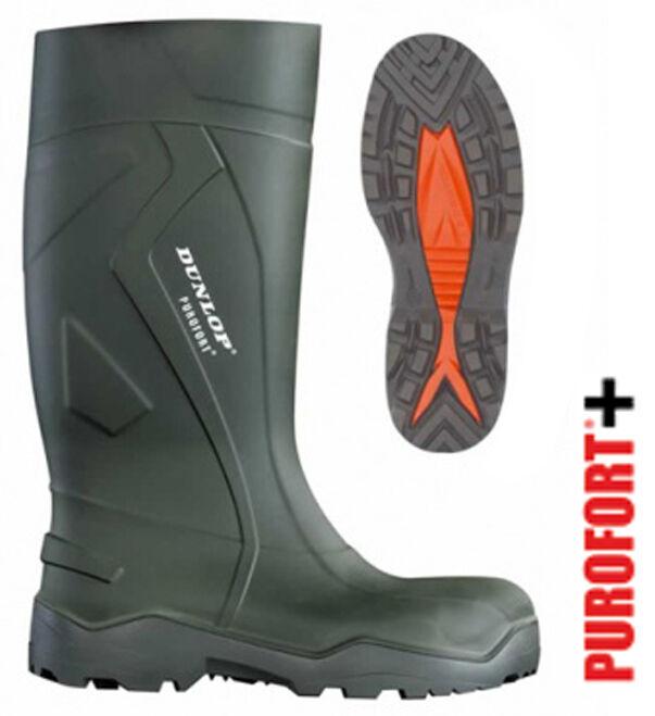 Dunlop Purofort+ Wellingtons - Größes 5-12