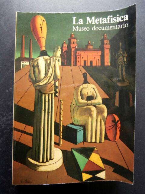 LA METAFISICA- MUSEO DOCUMENTARIO FERRARA- GRAFIS 1981- B3