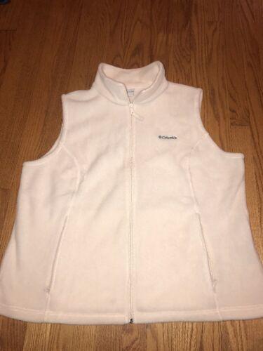 Beige Vest Sz 2x Fleece Coat Winter Ivory Jacket White Warm Columbia Womens wgF5q5