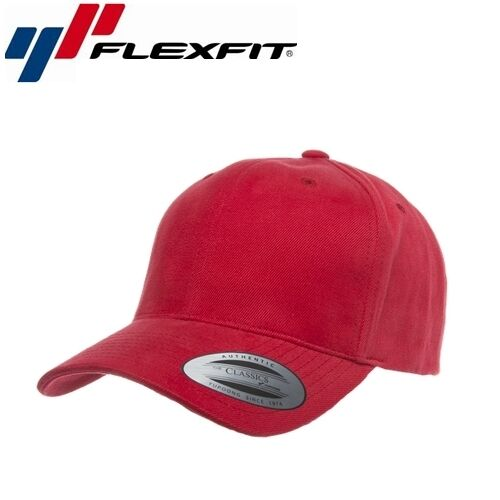 Flexfit Snapback Baseball Cap UNI//taille unique rouge