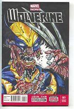 Wolverine 1 Marvel Blank Sketch Soehi Song Black Cat Mystery 50 Face Melt Homage