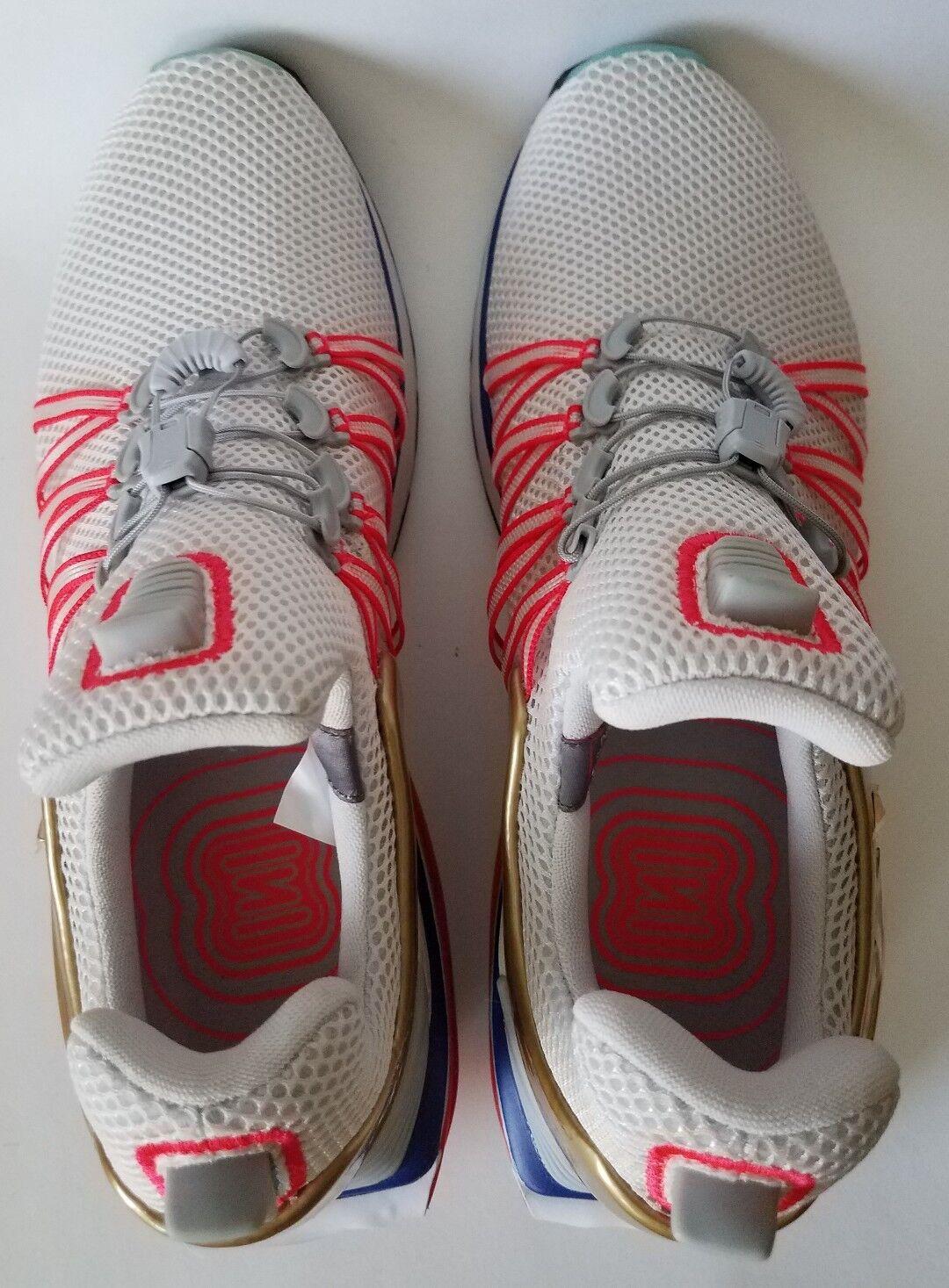 the best attitude 098a2 f3282 ... NEW Nike Shox Gravity Mens Mens Mens Olympic Shoe Sizes 10.5 Vast Grey  Metallic Gold 31615c ...