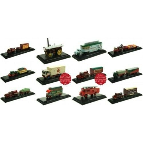 Atlas HU00 Fun Fair Circus Set of 12 Models Ideal for starting a collection