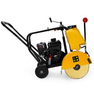 14-034-Gas-Cut-Off-Saw-5-5HP-Briggs-Stratton-Walk-Behind-Floor-Concrete-Machine
