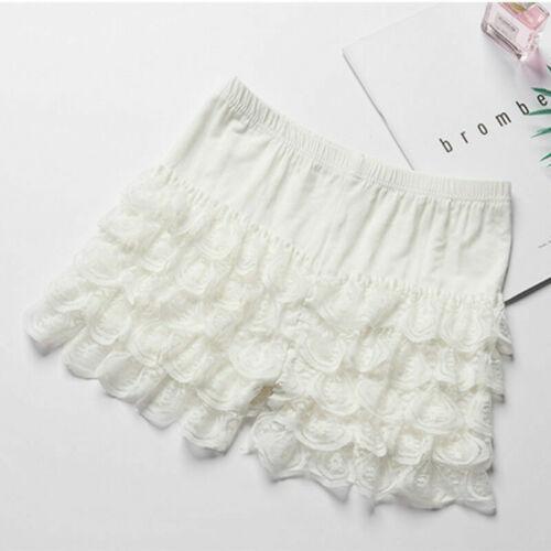 Ladies Lace Ruffles Shorts Lolita Knickers Panties Underpants Underwear Oversize