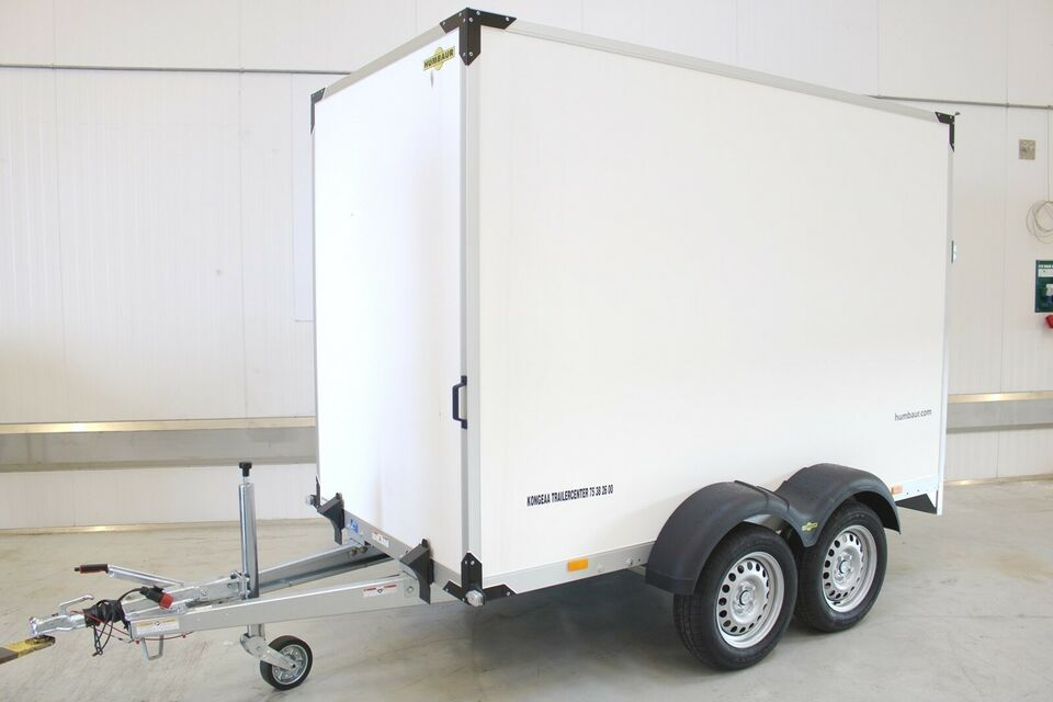 Trailer Humbaur HK 203015 - 18 døre + sidedør, lastevne
