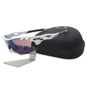 oakley custom polarized radarlock pitch silver with g30 vented mens rh ebay com