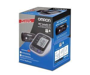 Tensiometro de Brazo Conexión al Móvil Omron M7 Intelli IT Digital Pulsometro