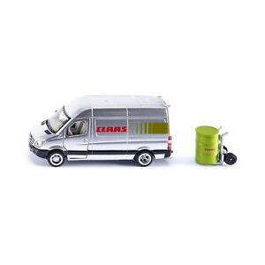 Siku-1995-Claas-servicefahrzeug-Argento-Scala-1-50-MODELLINO-AUTO-NUOVO