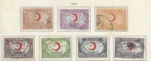 K00-TURKEY-1928-Red-Crescent-Red-Cross-Complete-Set-Used