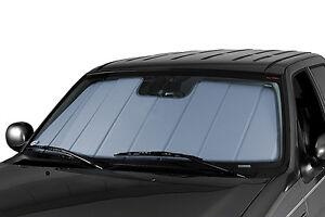 CoverCraft Silver Sunscreen Folding Sun Shade Custom Fit Heat Shield UV10907SV