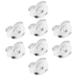 925 STERLING SILVER BUTTERFLY BACKS PUSH FIT EAR PIN STUD EARRING SCROLL STOPPER