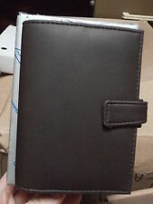 Agenda organizer CHANCELLOR LINE  Milano made in  ITALY  14.5 X 10.5 cm MARRONE