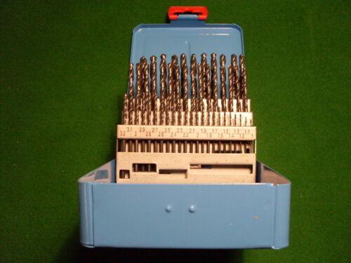HSS-R Bohrer Set Spiralbohrer 19//25//50//41tlg Eisen Metallbohrer Satz Kassette