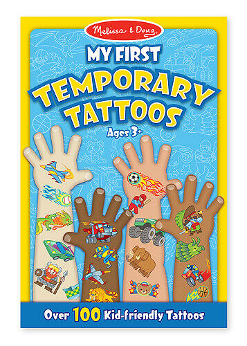 Melissa & Doug: My First Temporary Tattoos Blue