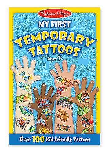 Melissa & Doug: My First Temporary Tattoos Blue