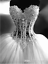 Sexy-Wedding-Dresses-Beaded-Lace-Pearls-See-Through-Ball-Bridal-Gown-Sweetheart thumbnail 1