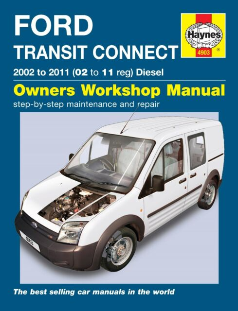 haynes workshop manual 4903 ford transit connect diesel 2002 2011 rh ebay co uk Ford Transit Tourneo 2004 Bila Ford Transit Tourneo Accessories