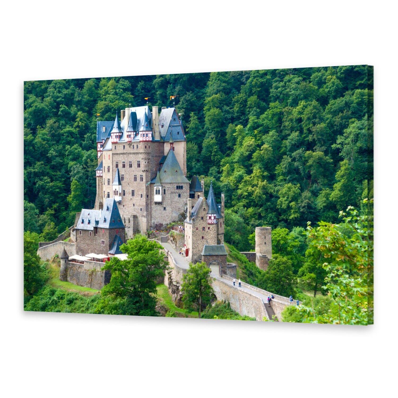 - Tela Immagini Immagine Parete stampa su canvas stampa d'arte Medioevo Castello