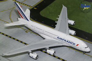 Details about Air France Airbus A380 F-HPJB Gemini Jets G2AFR781 Scale 1:200
