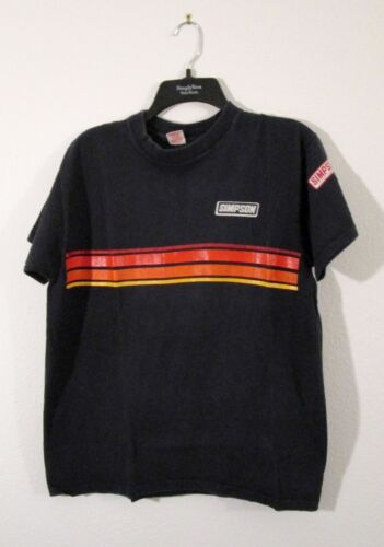 RARE Vintage 80s SIMPSON SAFETY EQUIPMENT TshirtN