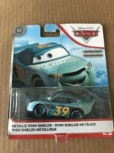Mattel Disney Pixar Cars Metallic Ryan Shields View Zeen Car 39