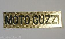 VECCHIO ADESIVO MOTO / Old Sticker Vintage MOTO GUZZI (cm 12 x 3,5)