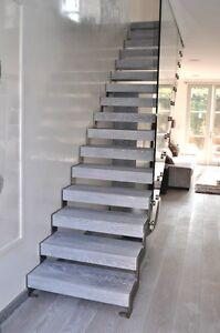 Image Is Loading Bespoke Gl Staircase Design Service Zig Zag Flight