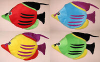 24 Fish Stuffed Decorative Pillow Gift For Fish Lovers Pick Your Color