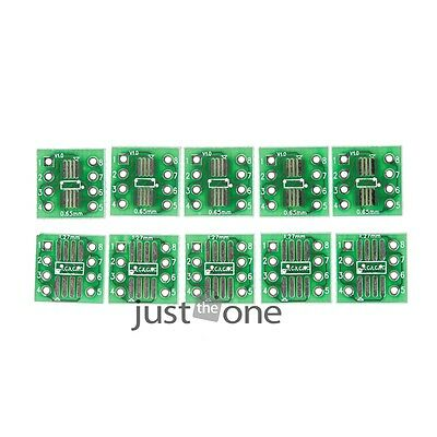 50PCS SOP8 SSOP8 TSSOP8 to DIP8 Interposer Board Moudle PCB Board Adapter Plate