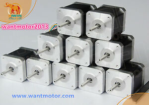 【DE Ship】1PC CNC Nema17,2.5A,4800g.cm,42BYGHW811 4wire Stepper Motor 3d printer