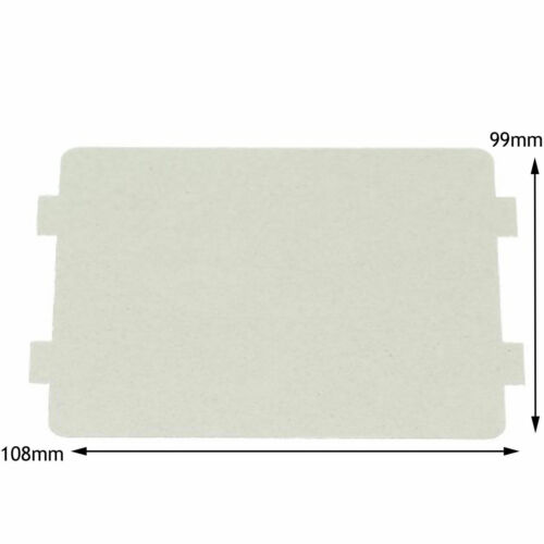 MORPHY RICHARDS Microwave Waveguide Cover Board Panel Splash Piece 108 x 99 mm