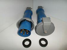 Hubbell Hbl5100p9wamphbl5100c9w 100 Amp Generator Plugampconnector 120208v 4p 5w