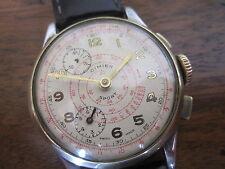 Vintage Cimier sports chronograph watch