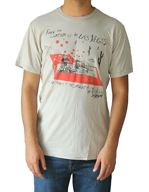 Ren and Stimpy version Fear and Loathing in Las Vegas T shirt Artwork