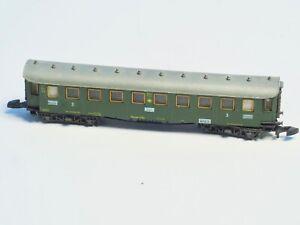 8731-Marklin-Z-scale-early-Era-passenger-car-DRG-THIRD-CLASS-Hamburg-Stuttgart
