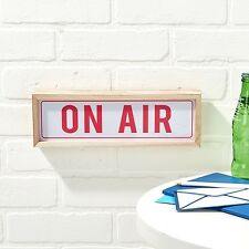 """""""On Air"""" LED Light Box Sign /  Wall Sign in Gift Box ideal for Gifting"""
