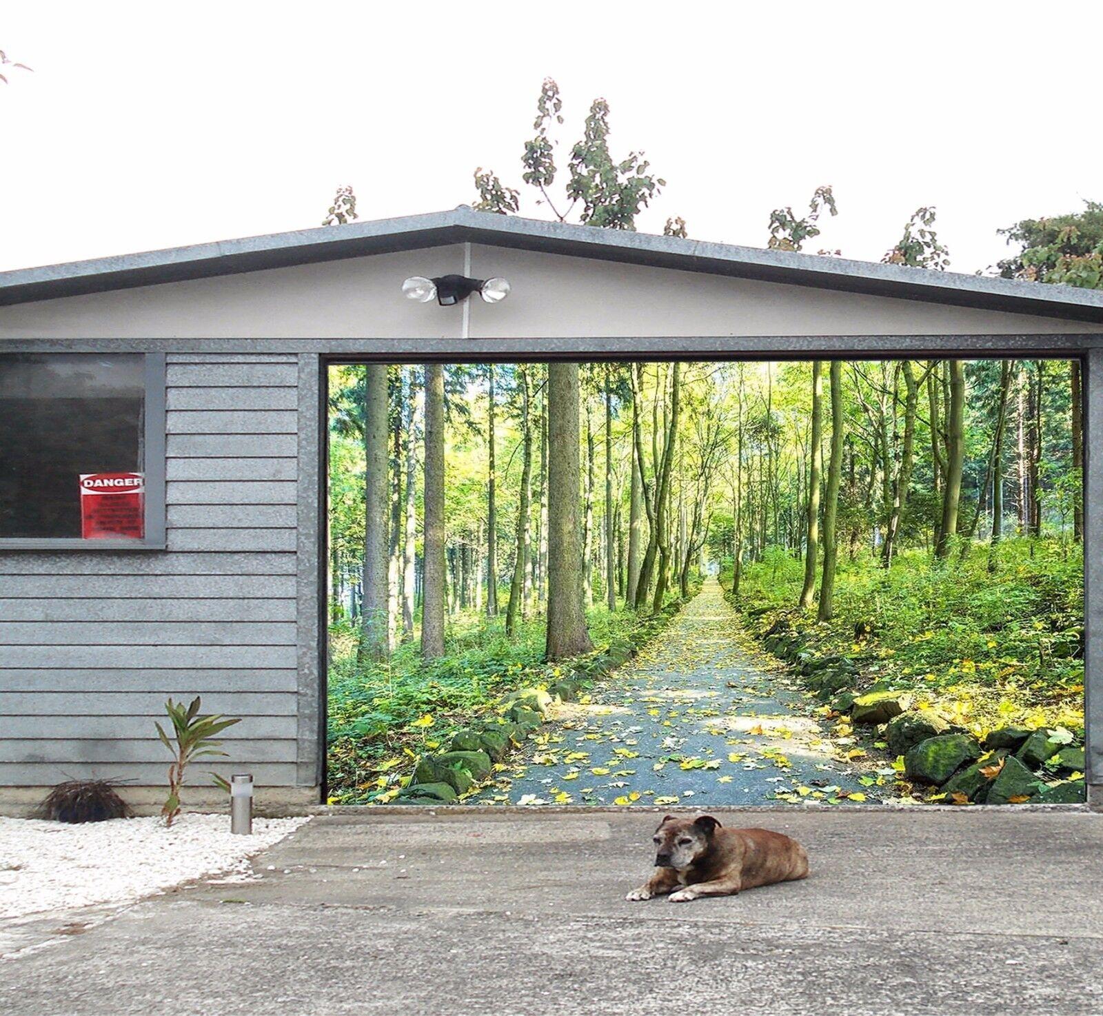 3D Fresh woods  Garage Door Murals Wall Print Decal Wall Deco AJ WALLPAPER UK