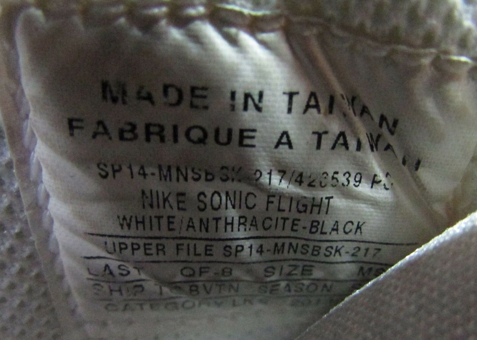Nike  Sonic Flight Gary Payton  Nike  Herren Basketball Schuhes Samples GP20 Größe 9 a31710