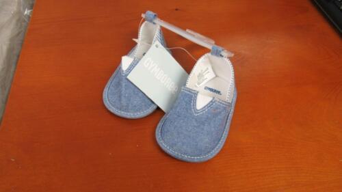 GYMBOREE Hippos /& Blues Baby Boy Crib Blue w//Stripes Shoes Size 1 2 3 4 NEW