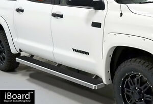 Premium-5-034-iBoard-Running-Boards-Fit-07-17-Toyota-Tundra-CrewMax-Cab