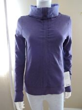 FINAL ONE Size 4 REVERSIBLE NWT Lululemon In A Cinch Long Sleeve Pullover Purple