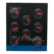 S.T. Dupont Lighter Red Flints Pack of 8 for Ligne D & Ligne 8 (650)