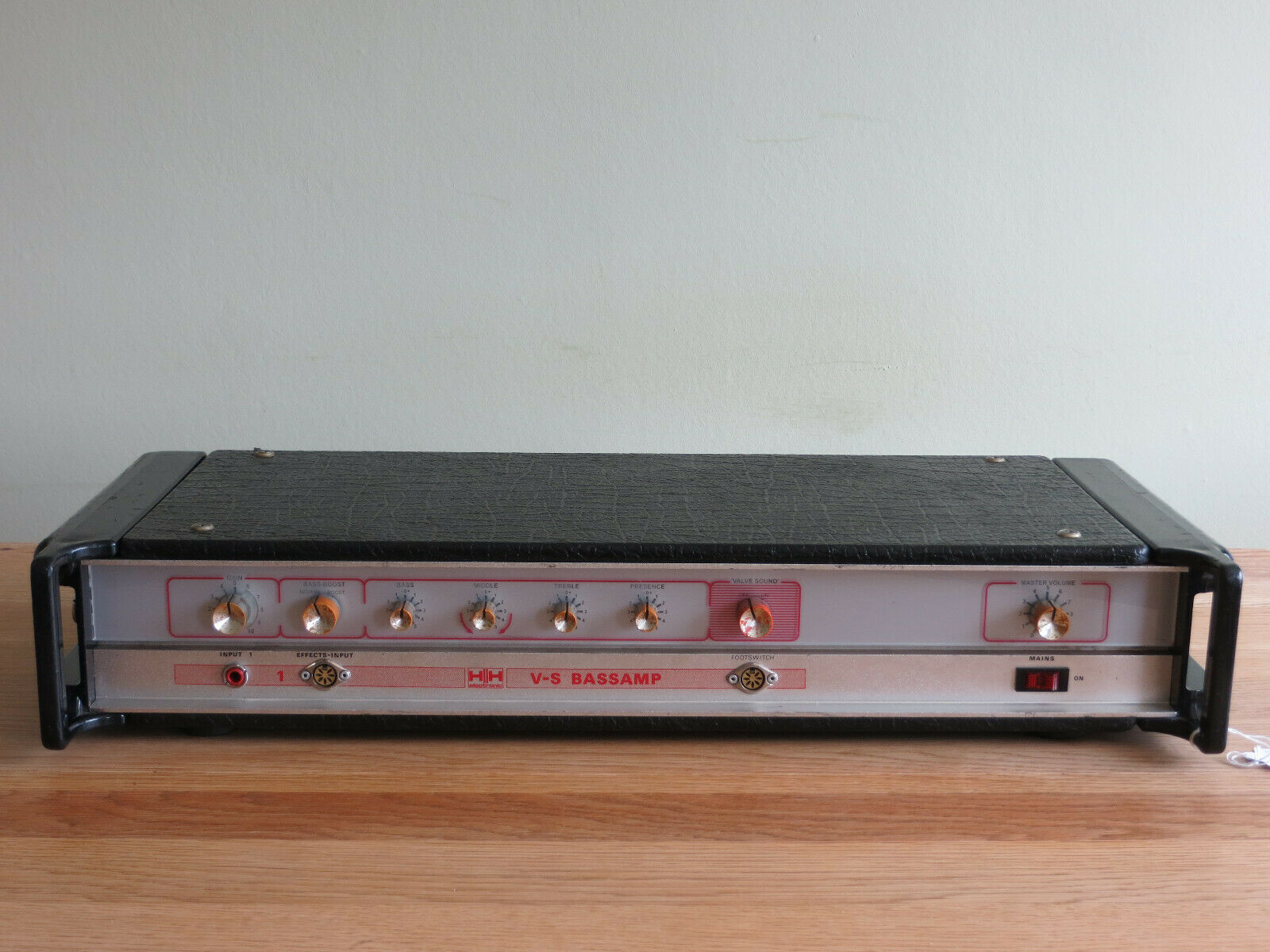 Vintage 1977 HH Electronic V-S Bassamp Head Amplifier 100w serviced & tested