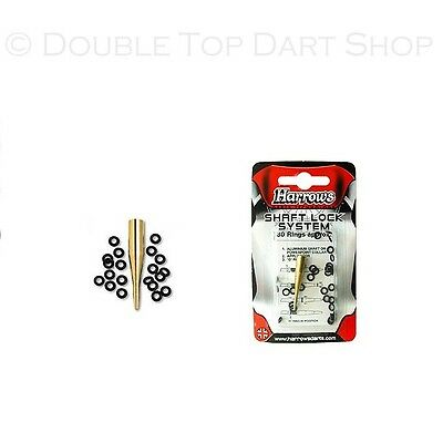 Harrows Rubber Washers for Dart Stems with Applicator aka The Shaft Lock System
