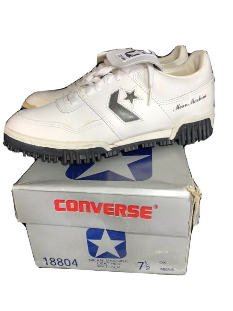 Vintage Converse Mean Machine Cleats Football Shoes Baseball Deadstock 7.5