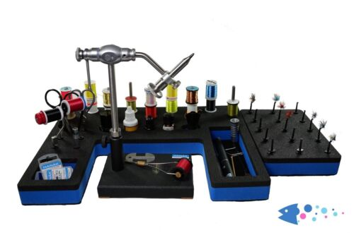 Upavon Compact Fly Tying Station /& Tool Caddy